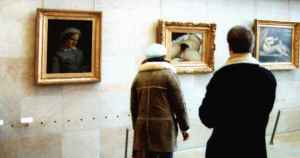 """""""Look at that interesting painting over there...!"""