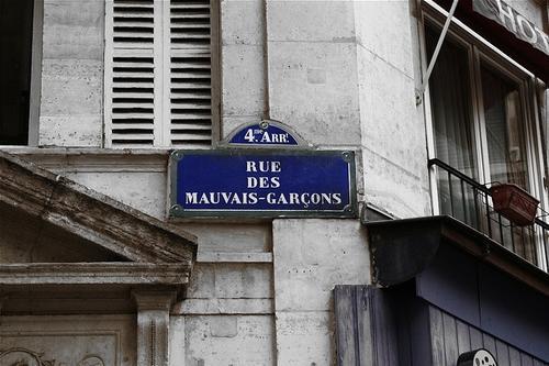 Rue Du Mauvais Garcons