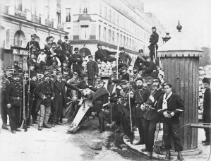 Place Vendôme (Group of Federated Soldiers near the Barricade in the Rue Castiglione), 1870-71
